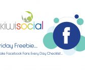 Make Facebook Fans Every Day – A Kiwi Social Downloadable Freebie